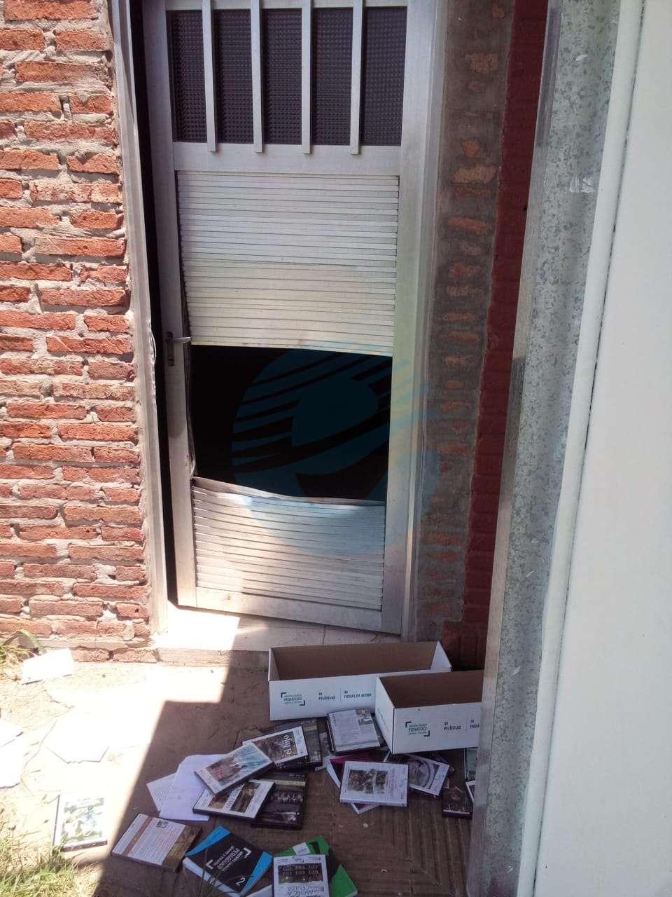 Una vez más robaron y destrozaron elementos de la Escuela 317