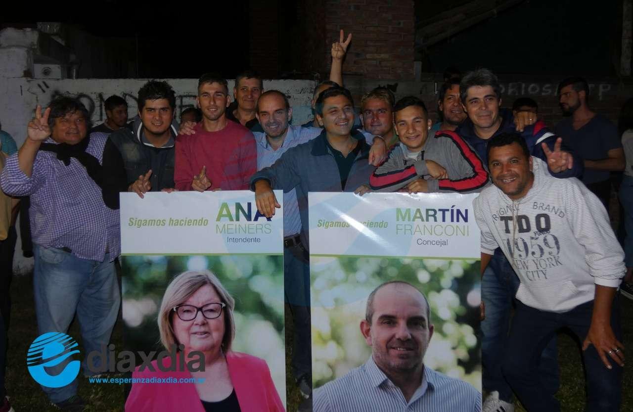 Ana Meiners fue la más votada en la primaria