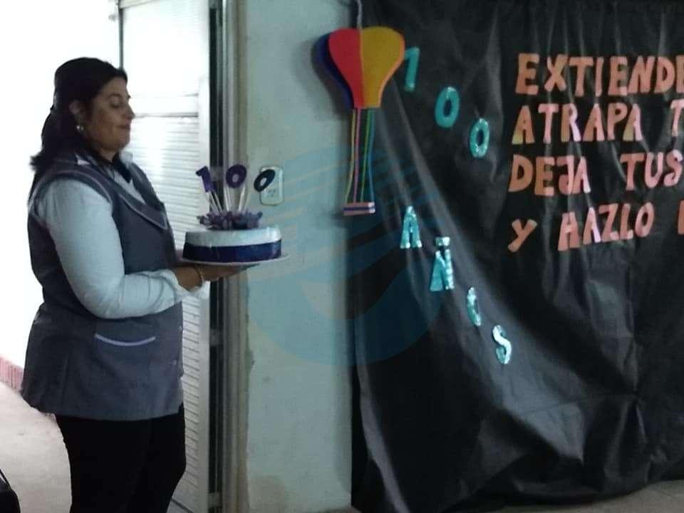 """La escuela N°317 """"Bernardo Iturraspe"""" celebró sus 100 años de vida"""