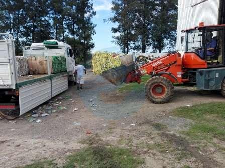 Se realizó la primera venta de 70 toneladas de materiales recuperados en el LIMPES