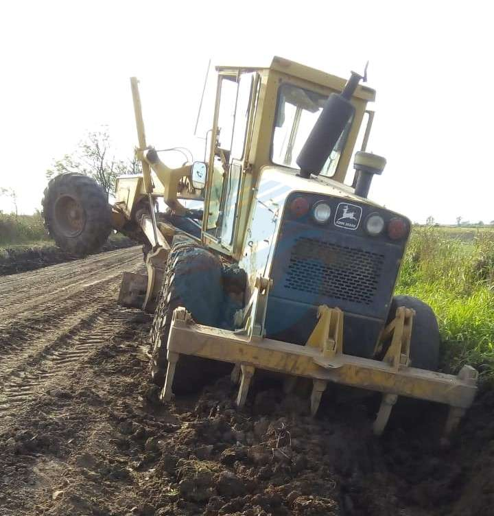 Municipio informó sobre la continuidad del trabajo en caminos rurales
