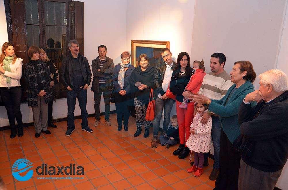 Un coleccionista comparte obras de grandes maestros en el Museo Borla
