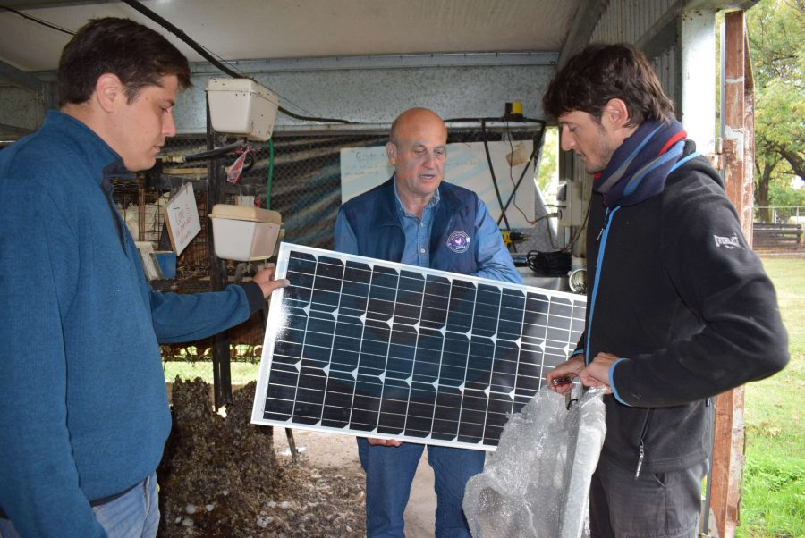 La Granja Experimental de la FCV-UNL ya funciona con energía solar