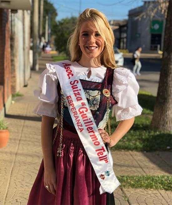 Bárbara Ledroz es la Reina Nacional del Folklore Suizo