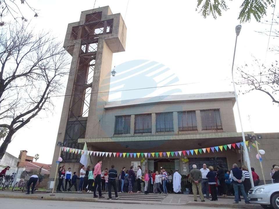 Fiesta patronal en la Cuasi Parroquia del Barrio Sur