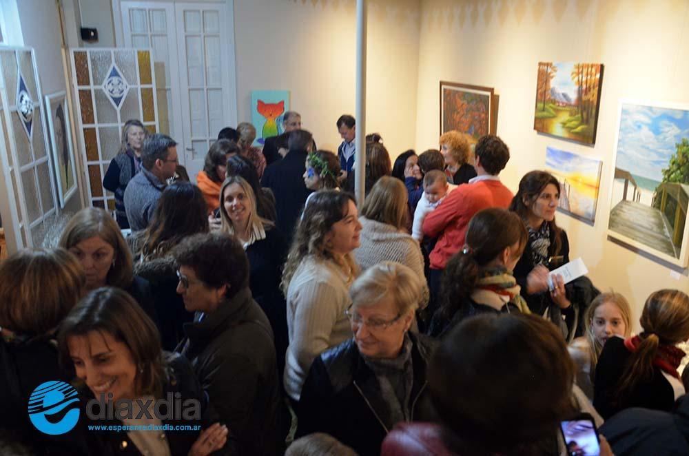 60 alumnos de arte exponen en Fundación RD
