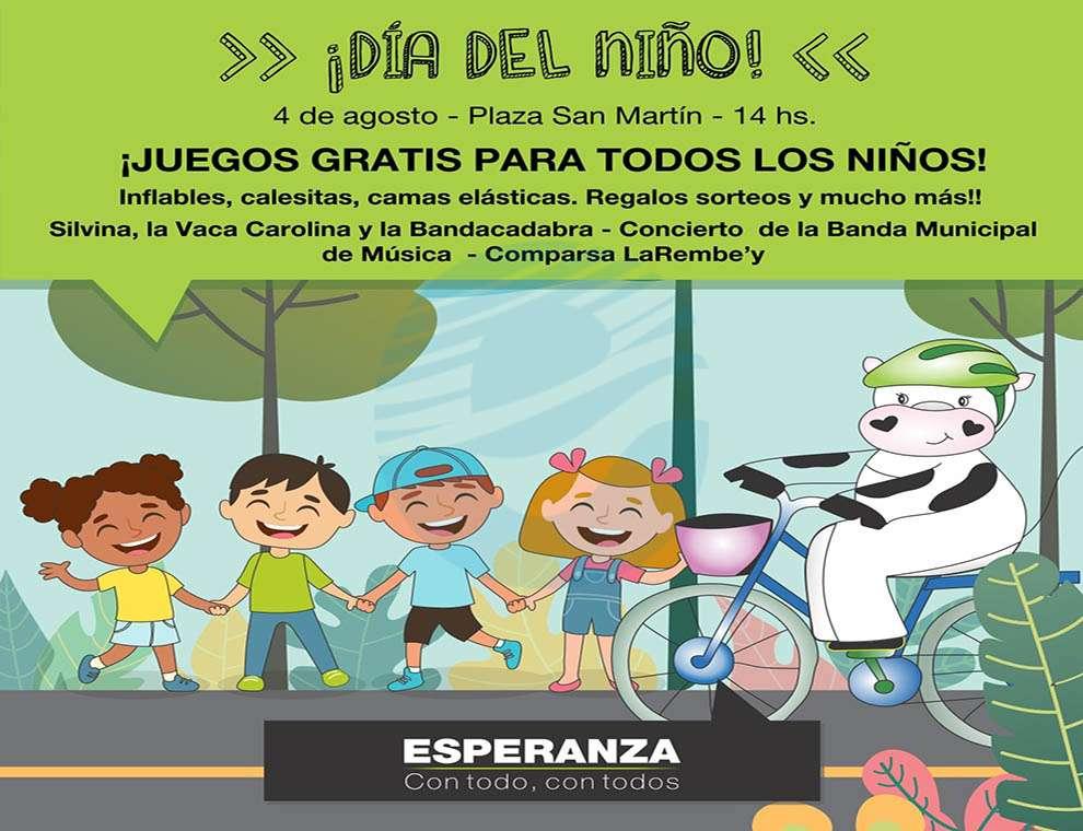 Este Domingo Se Celebra El Dia Del Nino En Plaza San Martin Esperanza Dia X Dia
