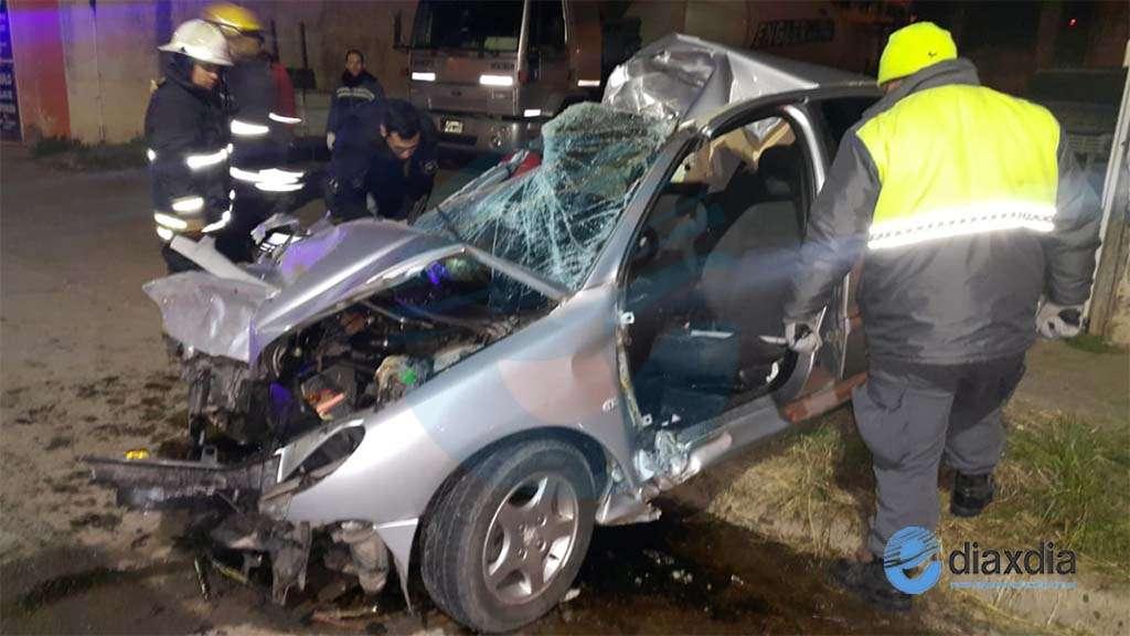 Impactante accidente en ruta 70