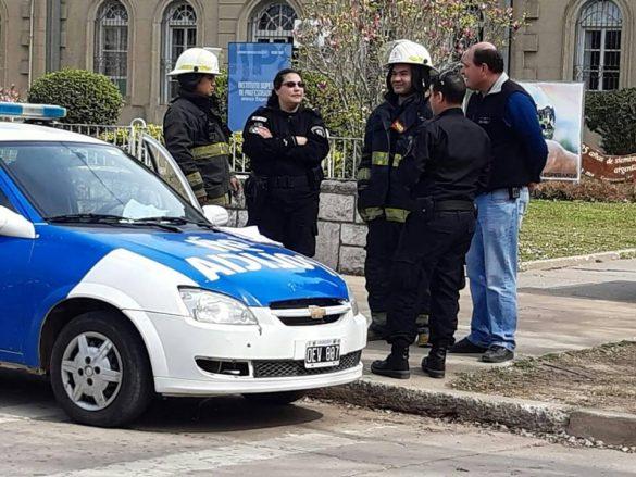 Por una falsa amenaza de bomba el Colegio San José suspendió sus clases este viernes