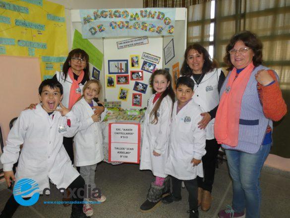 """La Escuela """"René Favaloro"""" fue sede de una exitosa «Eureka»"""