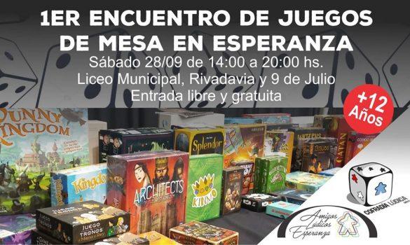Se realizará el Primer Encuentro de Juegos de Mesa en Esperanza