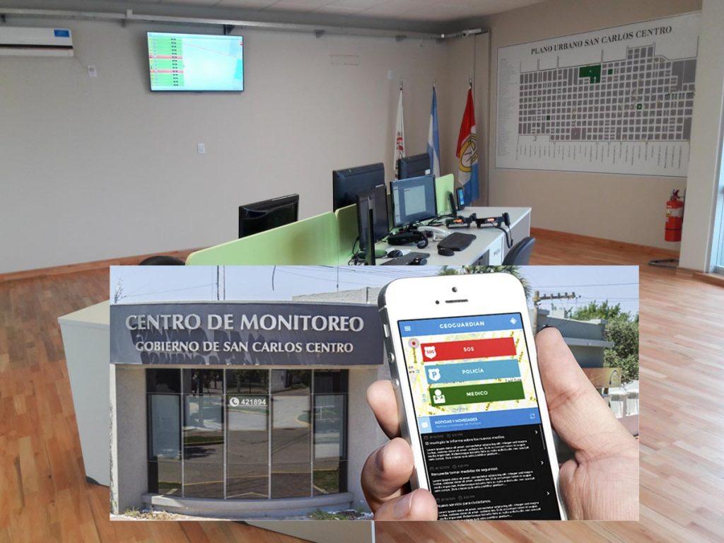 En San Carlos Centro los vecinos alertan al Centro de Monitoreo - Esperanza DíaXDía